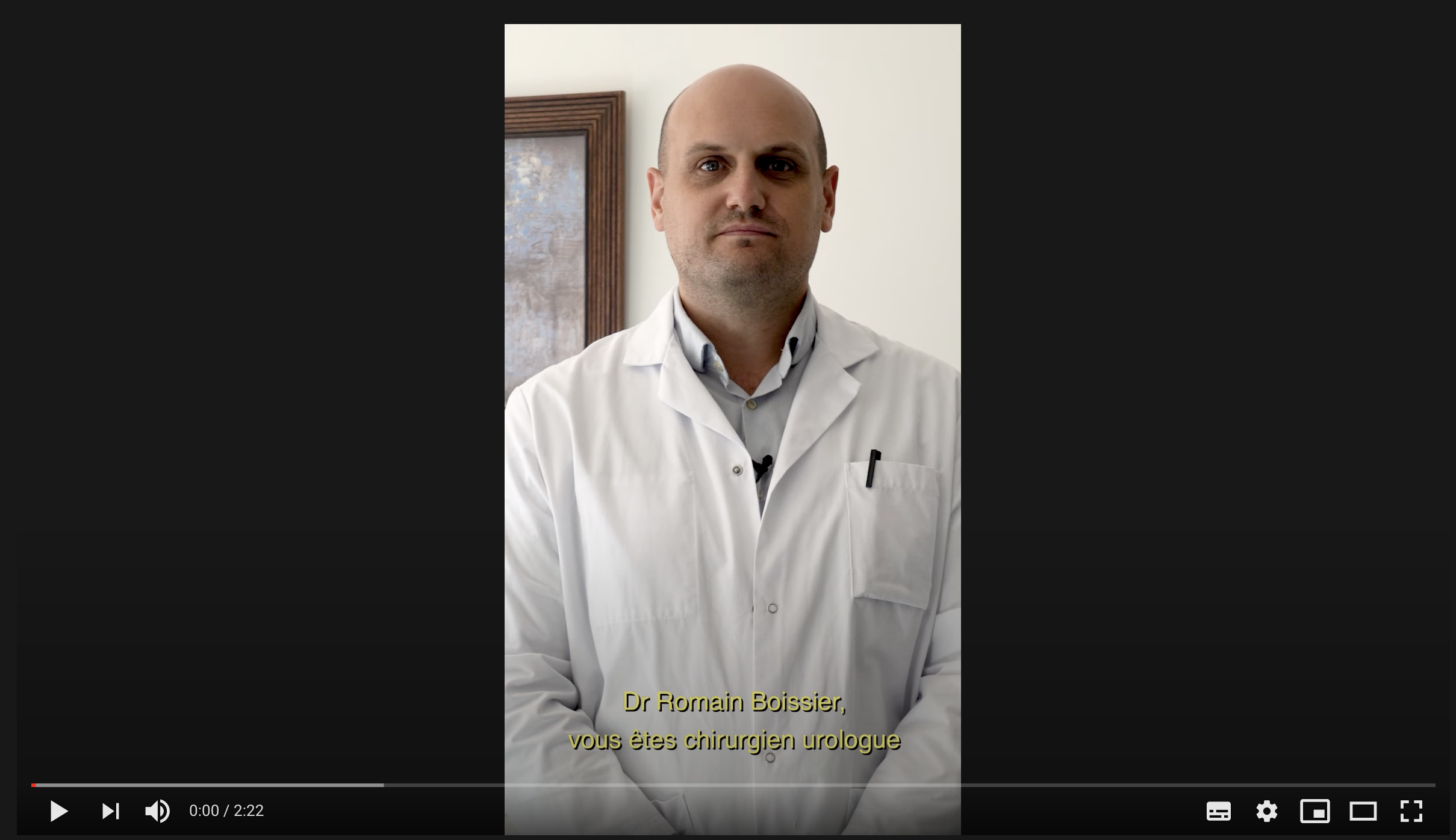 Témoignage : Dr Boissier, chirurgien urologue